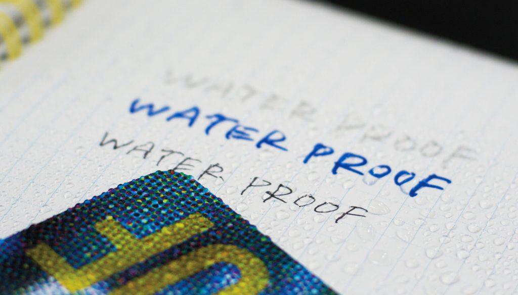 耐水ノート