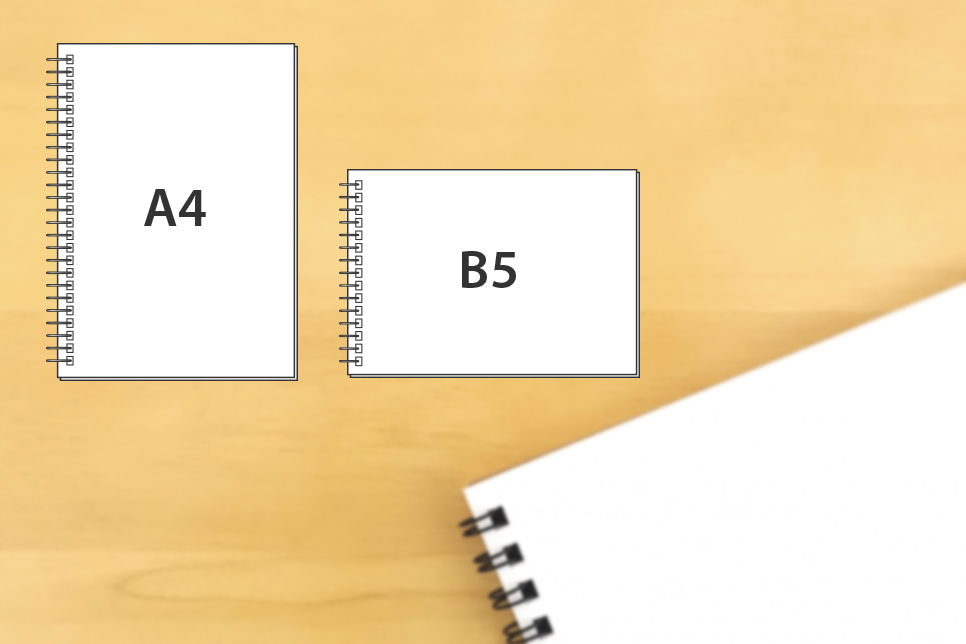 A4タテ型スケッチブック(リングタイプ)
