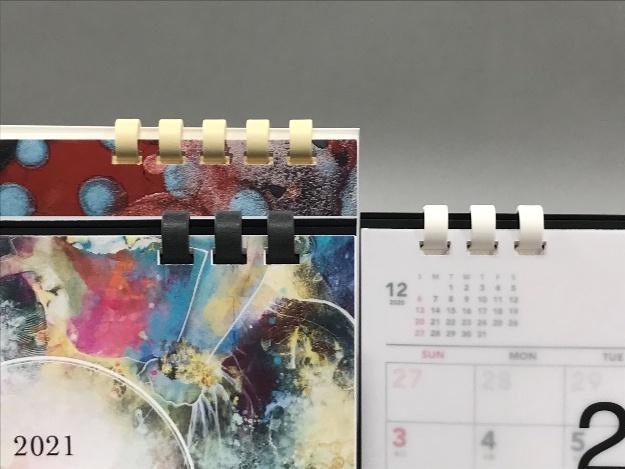 ペーパーリング卓上カレンダー取扱い開始