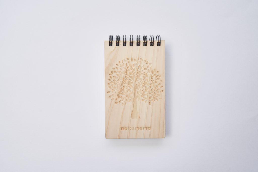 木のリングメモ